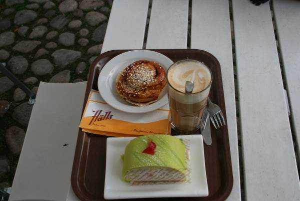 Hälls Bageri&Konditori kafeteryasından bir çeşitleme…