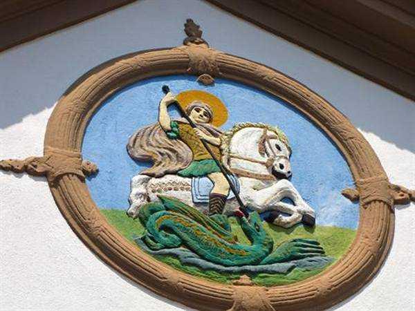 Bir Başka Kiliseden - Agios Georgios Ejderhayı Öldürüyor...