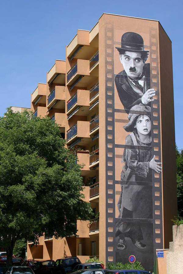 Charlie Chaplin - 10 boulevard Vallombrosa - © www.cannes.com
