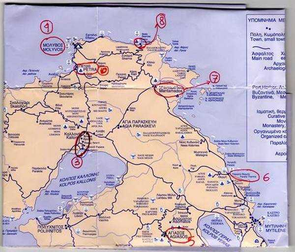 Haritada 4. gün rotamız