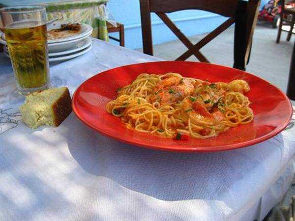 Karidesli Spaghetti