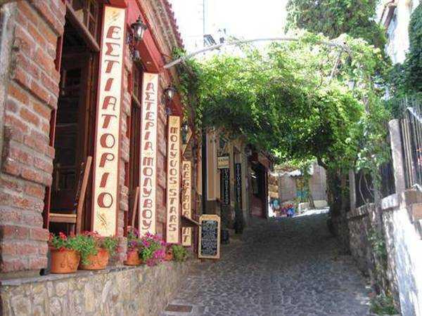 Molyvos Sokakları