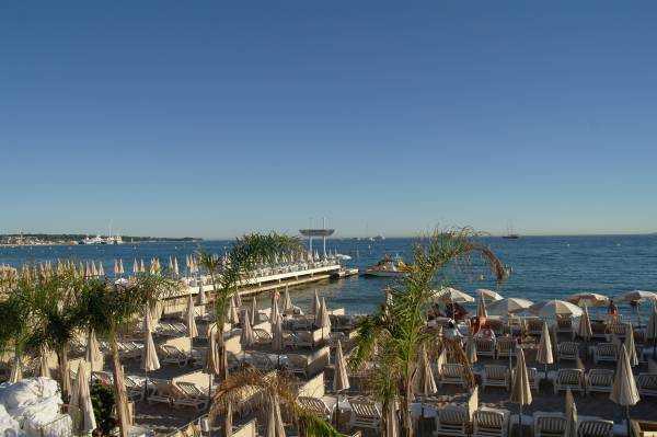 Carlton Hotel Plajı - Cannes