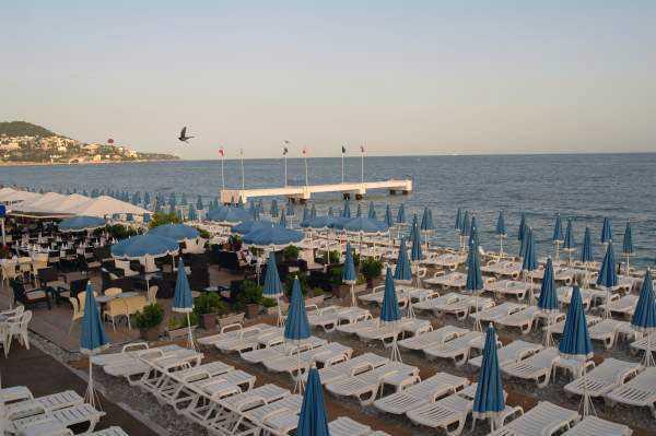 Nice Plajları - Promenade des Anglais