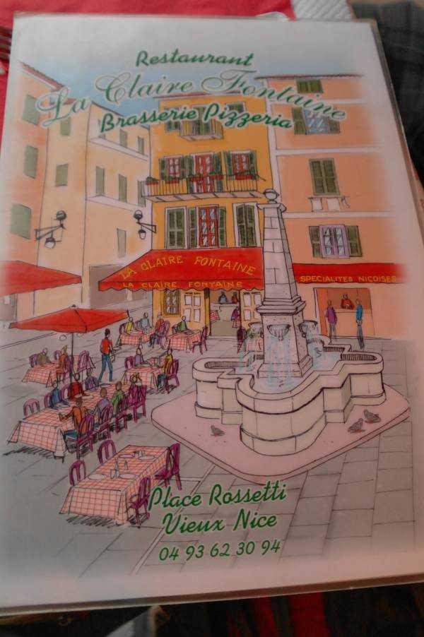 La Claire Fontaine Restoranı