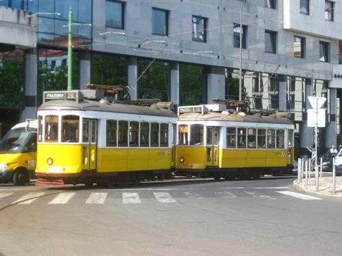 Lizbon'un Sarı Tramvayları