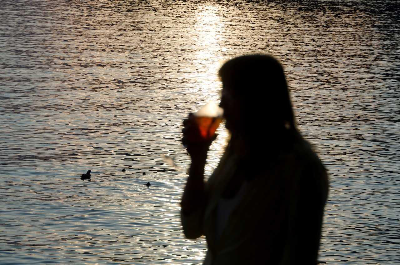 Garda Gölünün Garda ilçesinde Spritz keyfi…