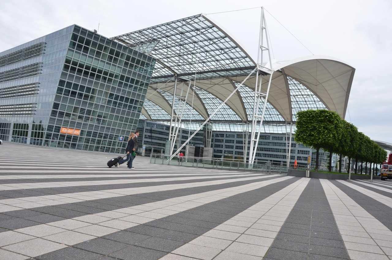 Münih Havaalanı…