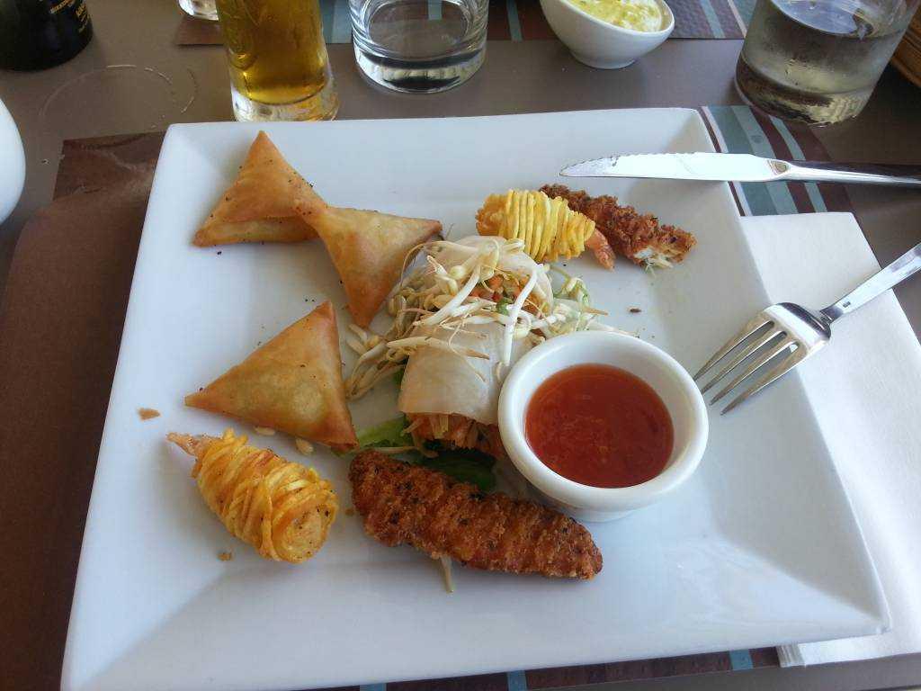 Miramar Hotel Restaurant'da yediklerimiz...