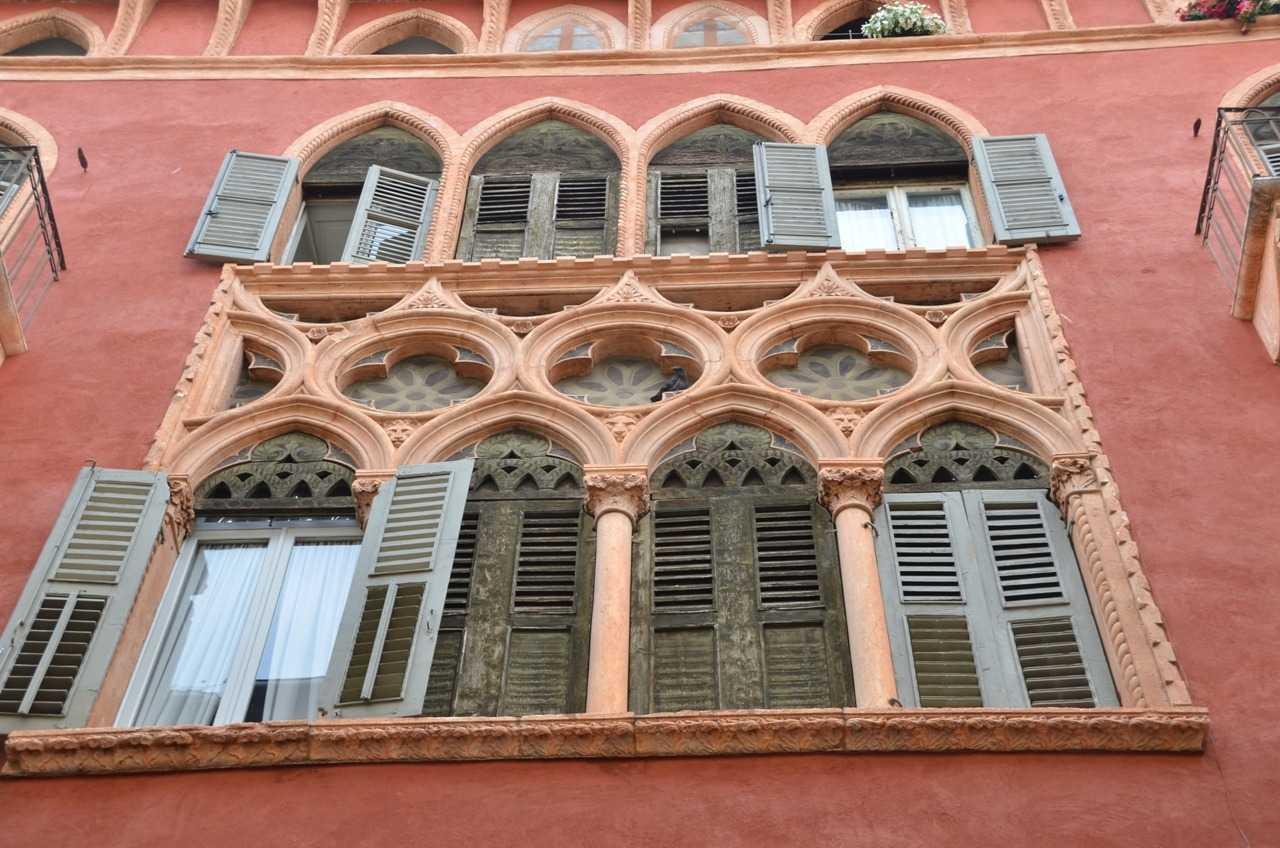 Verona'dan bir bina detayı…