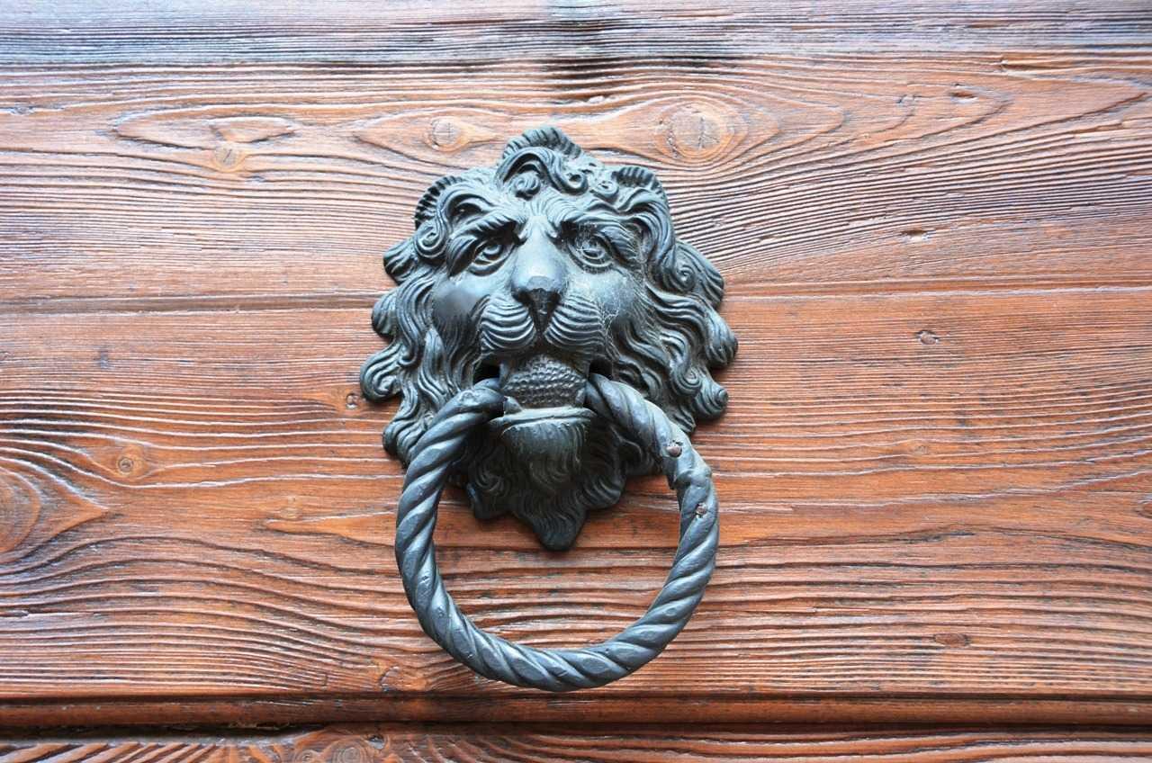 Verona'da bir kapı tokmağı...