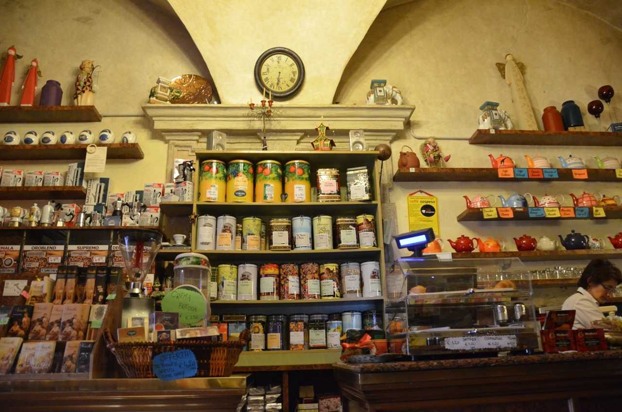 Kahvesi çok güzel olan Caffetteria Borsari – Verona…