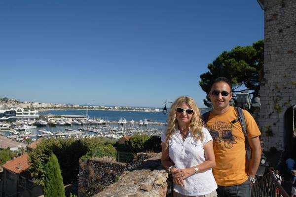 Cannes Hatırası fotoğrafımız :)