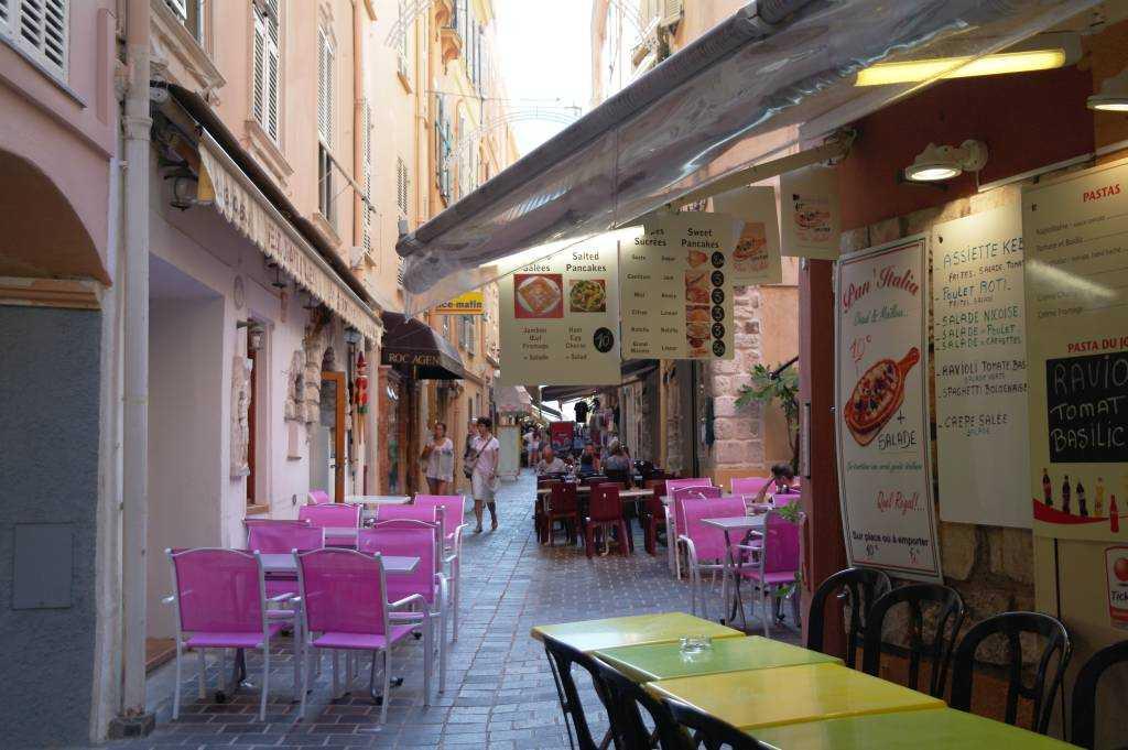 Monaco-ville ara sokaklar