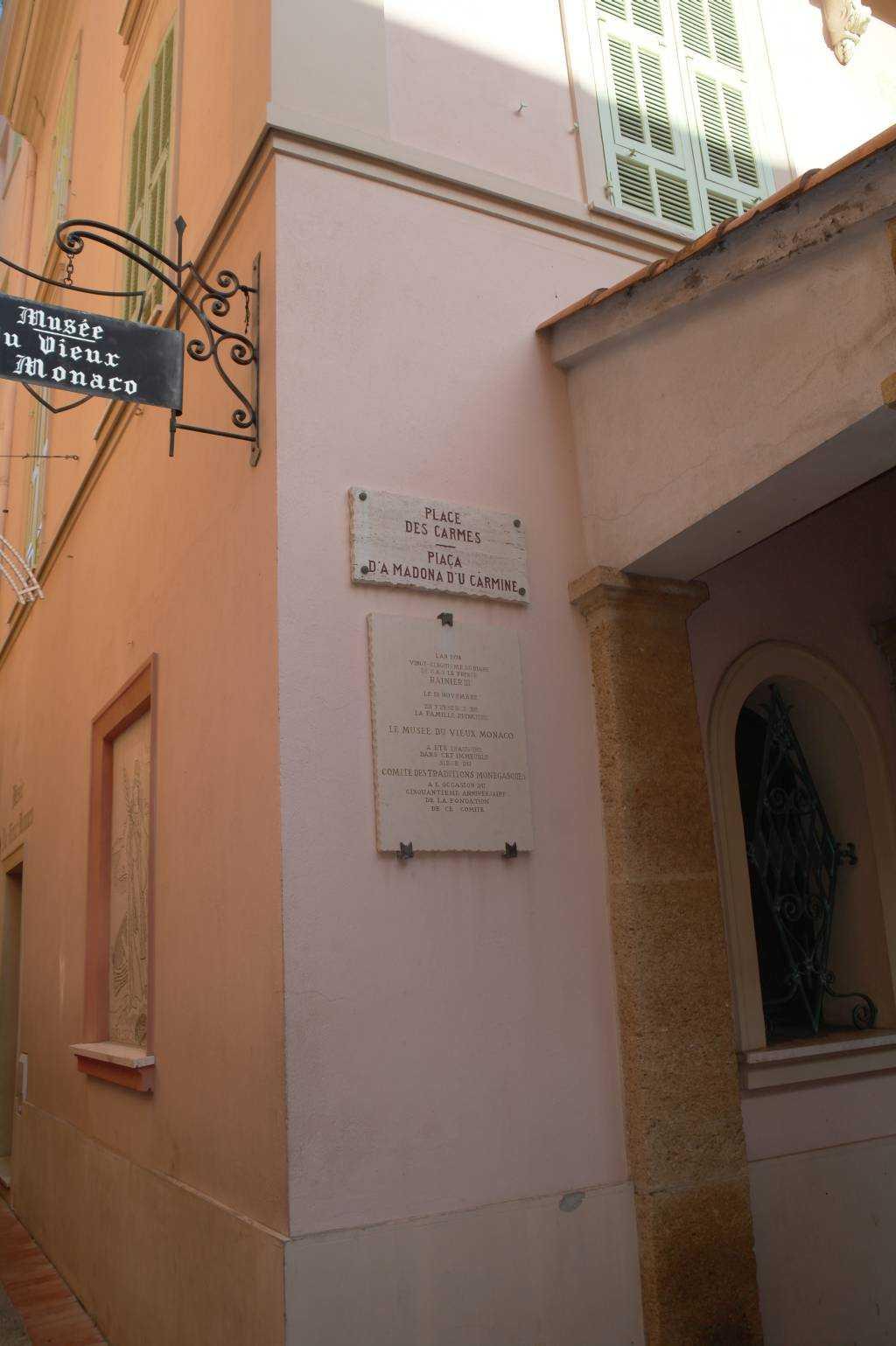 Monako Müzesi - Monaco-ville