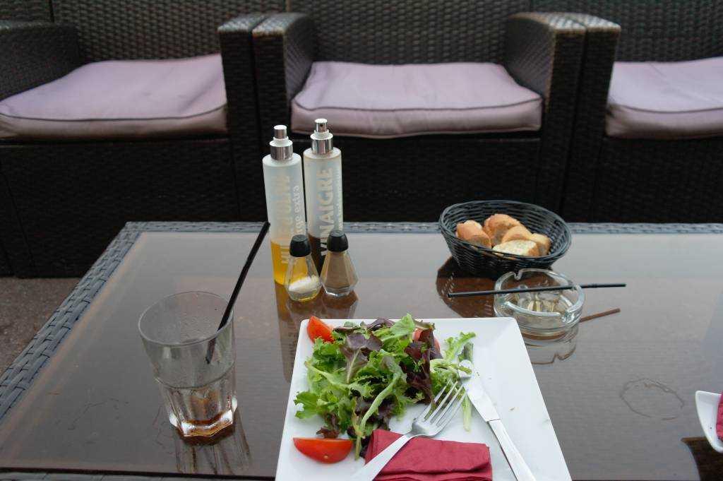 Port Hercule'de kafe keyfi :)