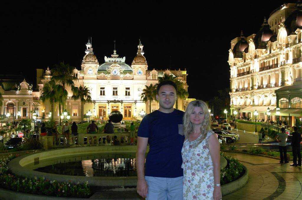 Monte Carlo'ya  veda fotoğrafımız...