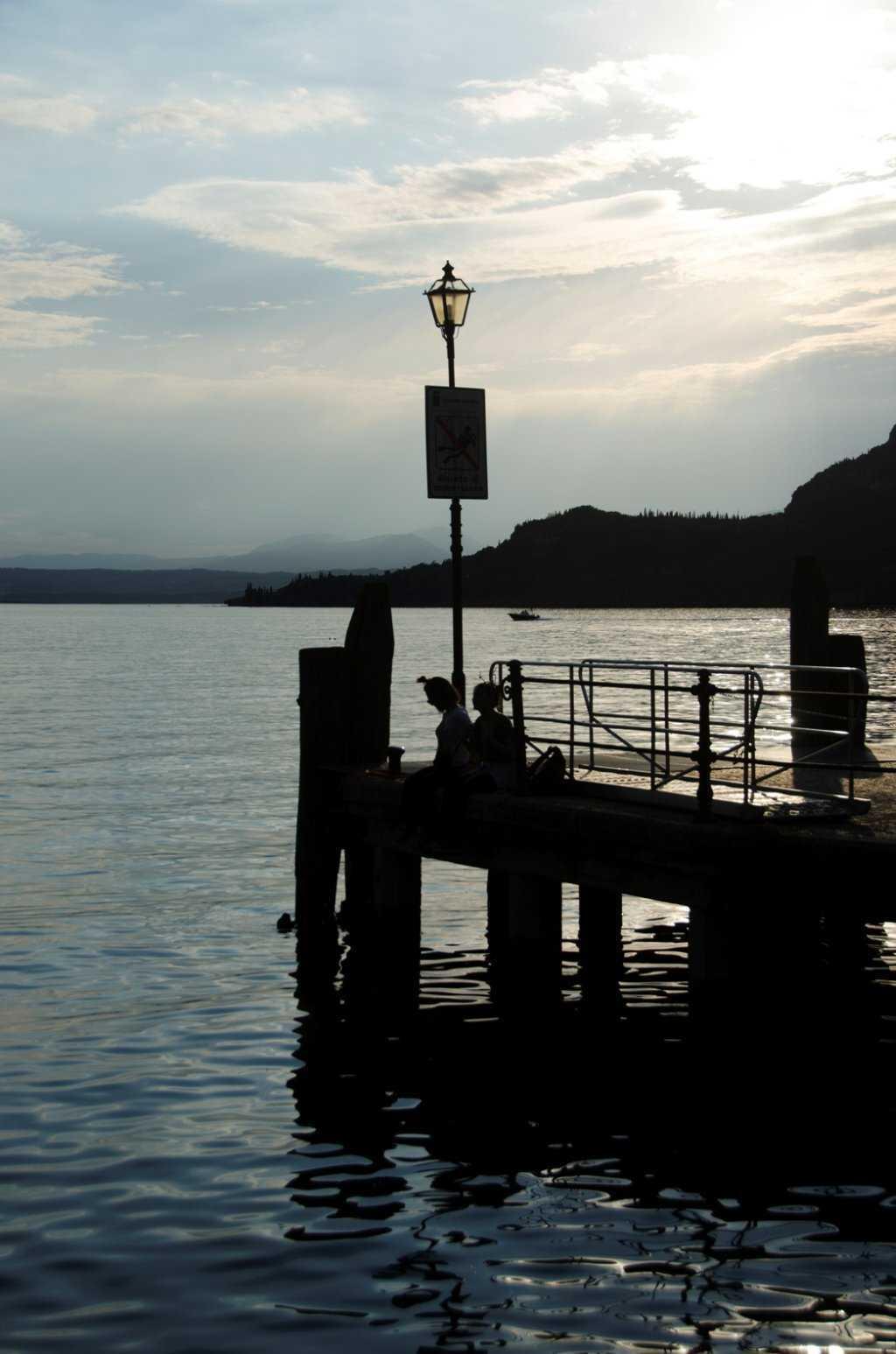 Garda Gölünün Garda Kasabası…