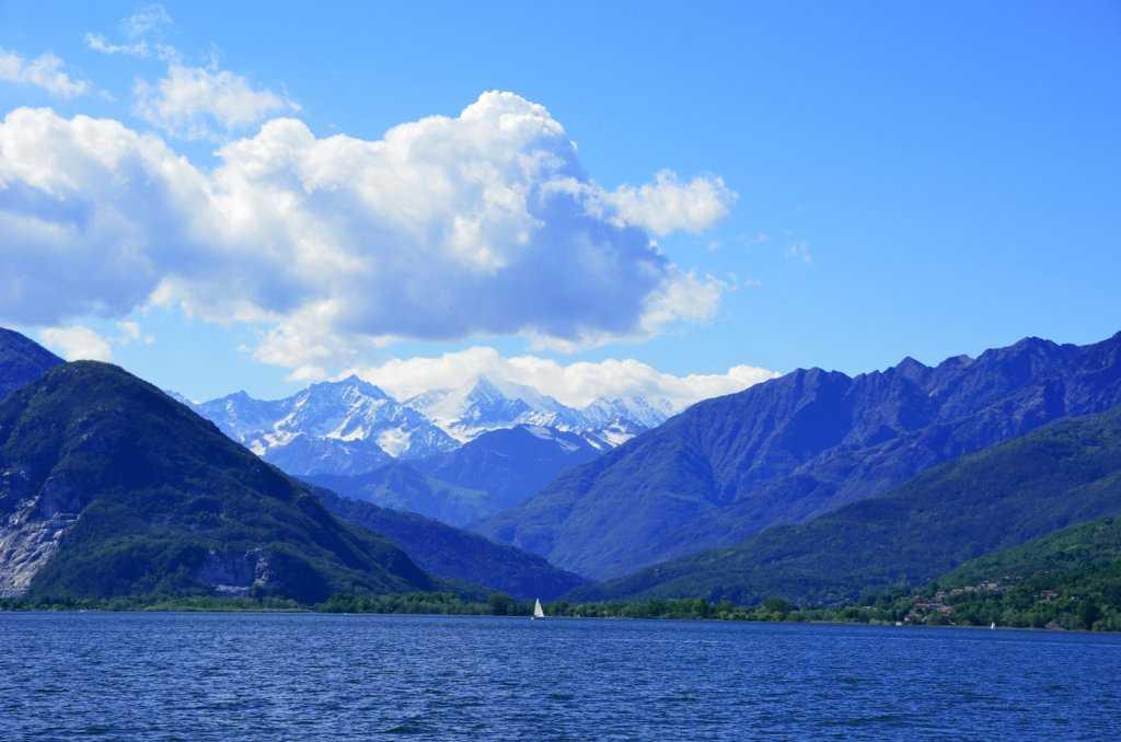 Stresa - Intra tekne turunda karşınıza Alp Dağlarının muhteşem manzaraları çıkıyor…