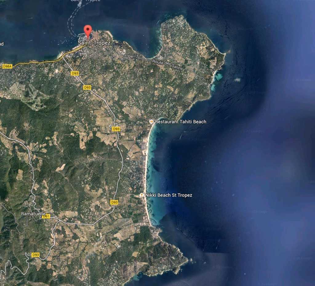 St Tropez Plajları...