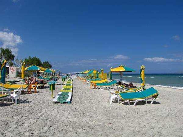 Marmari plajları