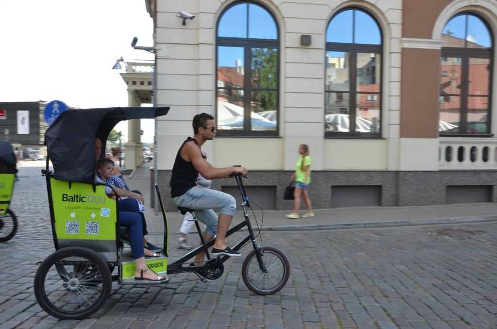 Bisiklet taksiler…