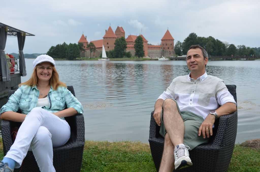Litvanya'daki Trakai Kalesinde keyfimiz tamdı…