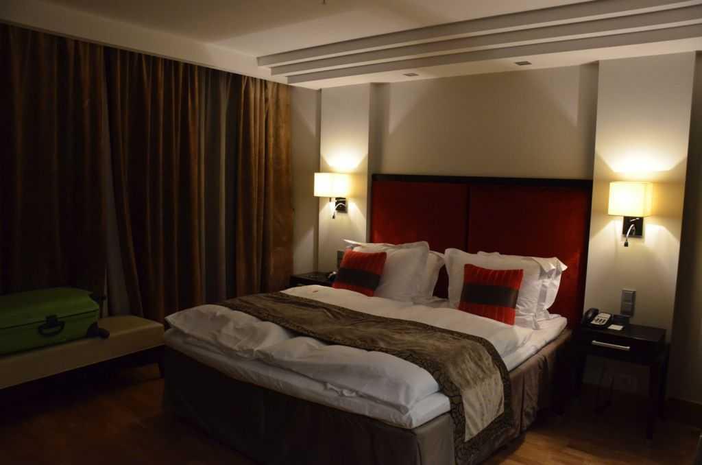 Radisson Elizabete Otelinin odası…