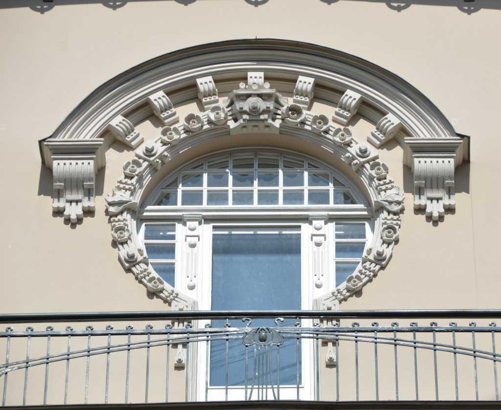 Alberta iela 4 adresindeki Mimar Mihails Eizenšteins tasarımı binanın balkon detayı… (1904)