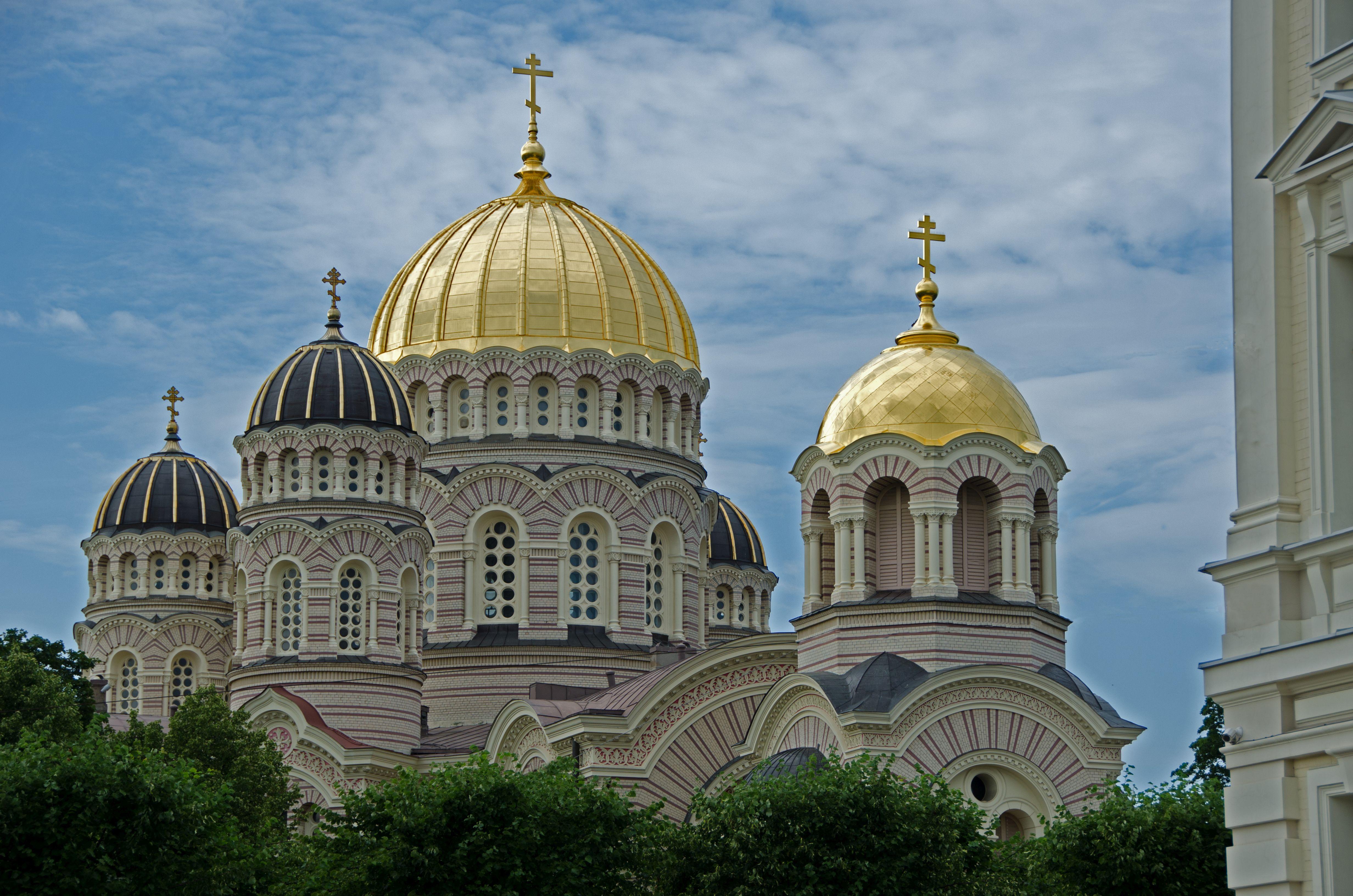 TheNativity of Christ Katedralinden detay - Kristus Piedzimšanas Pareizticīgo Katedrāle…