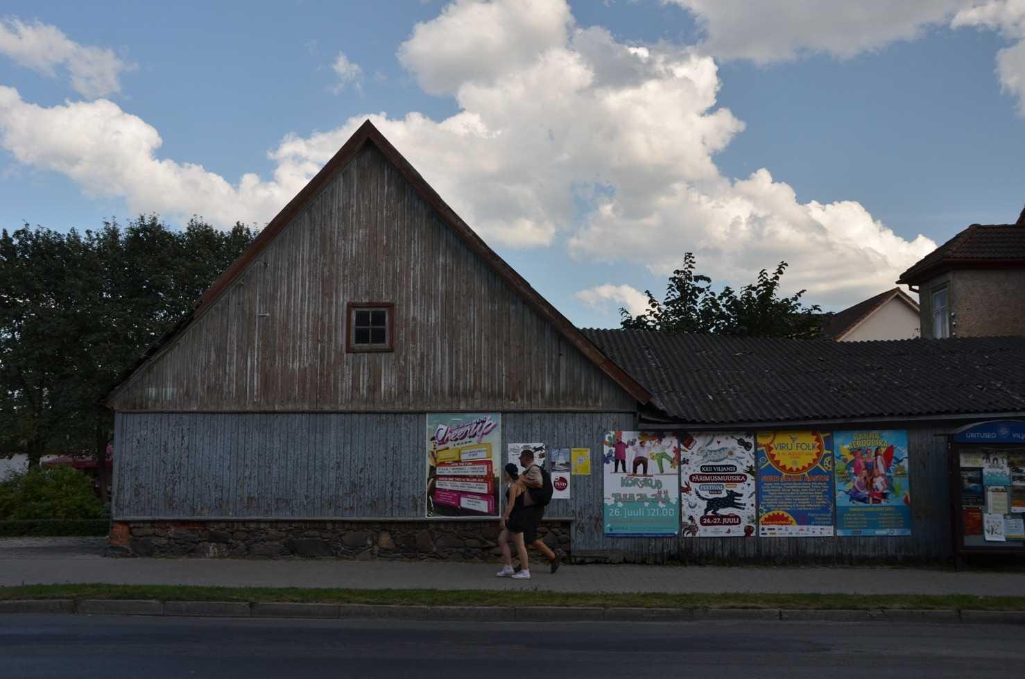 Viljandi Folk Müzik Festivalinin afişleri…