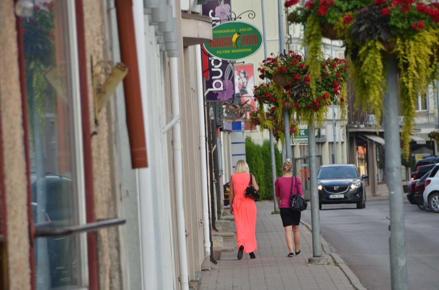 Viljandi'den halk manzaraları…