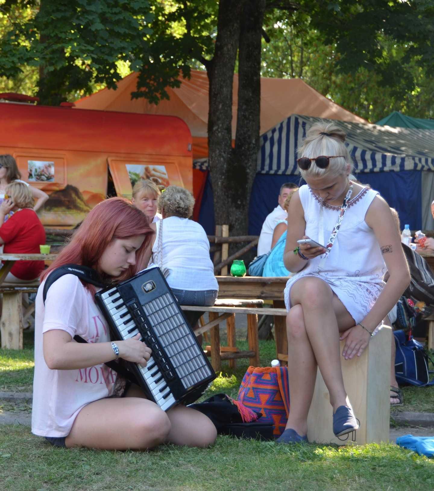 Viljandi Folk Müzik Festivalinden kareler…