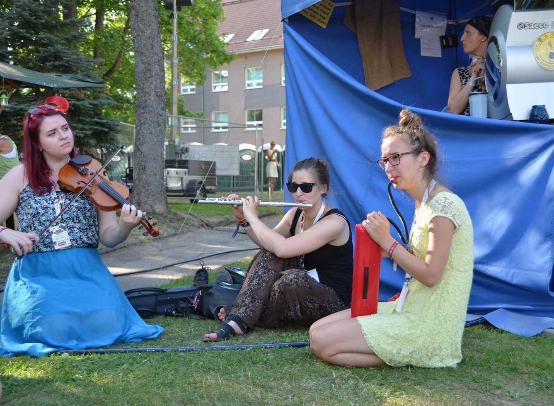 Viljandi ve müzik yapan bir grup…