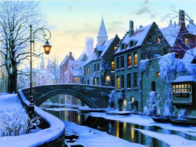Bruges-in-winter