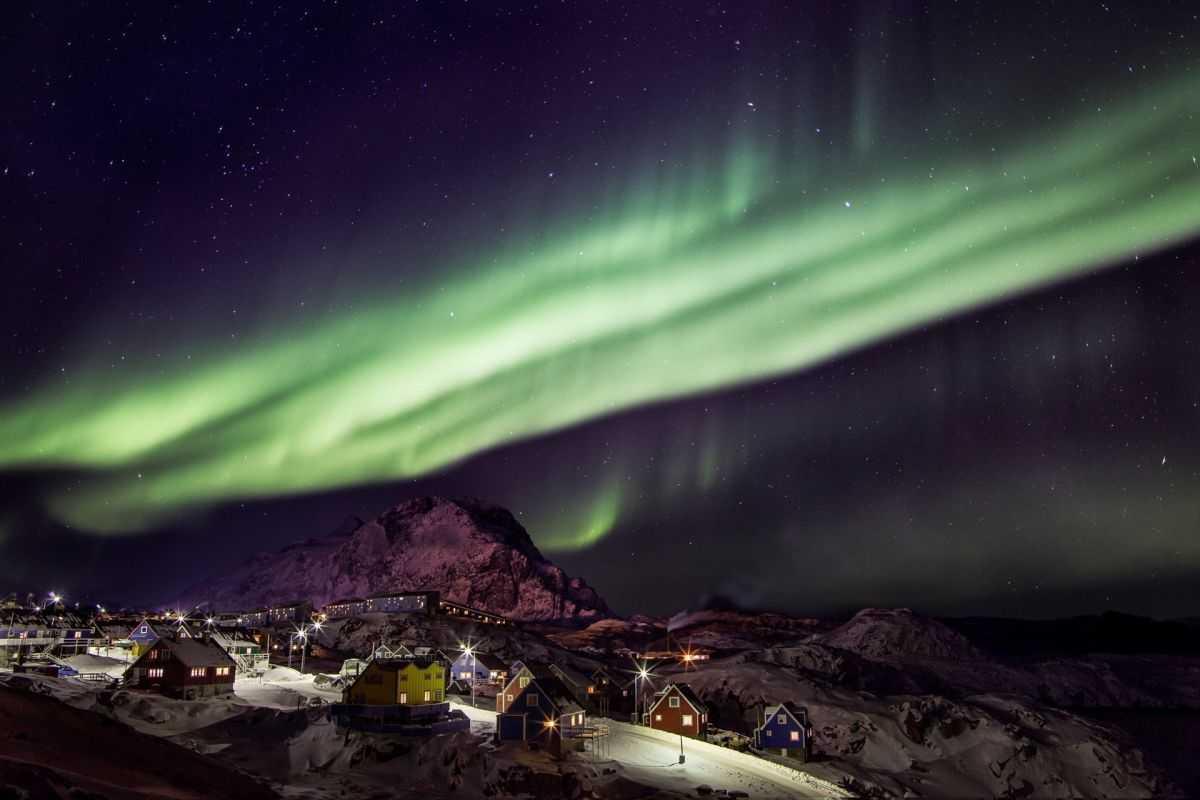 Grönland Kuzey Işıkları