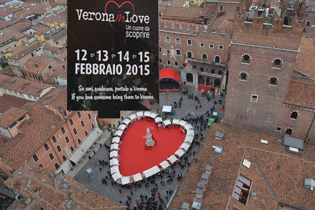 Piazza dei Signori Meydanındaki dev kalp