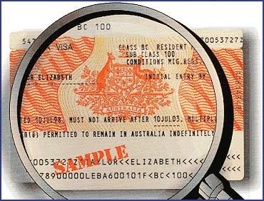 sample visa