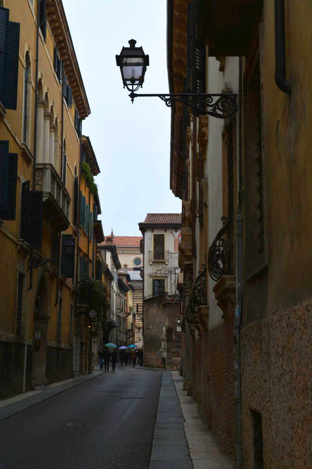 Verona sokaklarında...