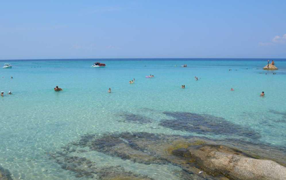 Halkidiki'nin kristal berraklığındaki denizi: Kavourotripes