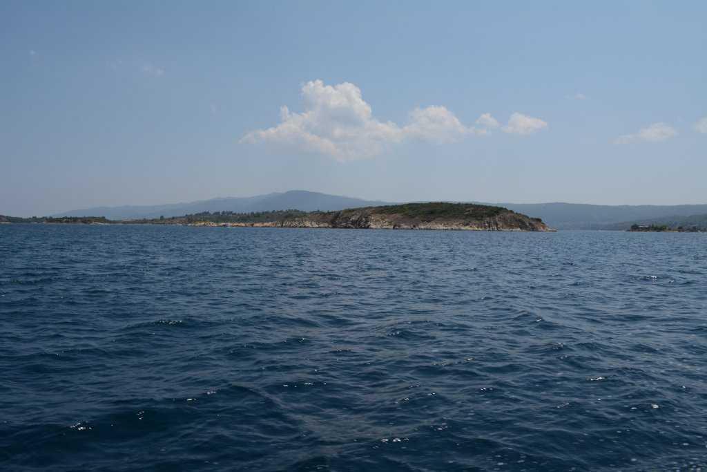 Diaporos Adası'na yolculuk