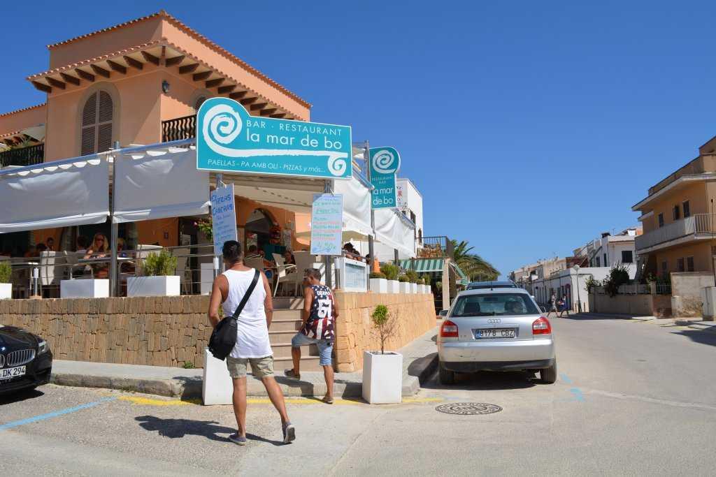 La Mar de Bo restoranı