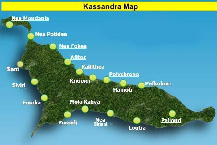 Kassandra leg map