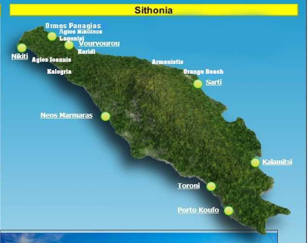 Sithonia leg map
