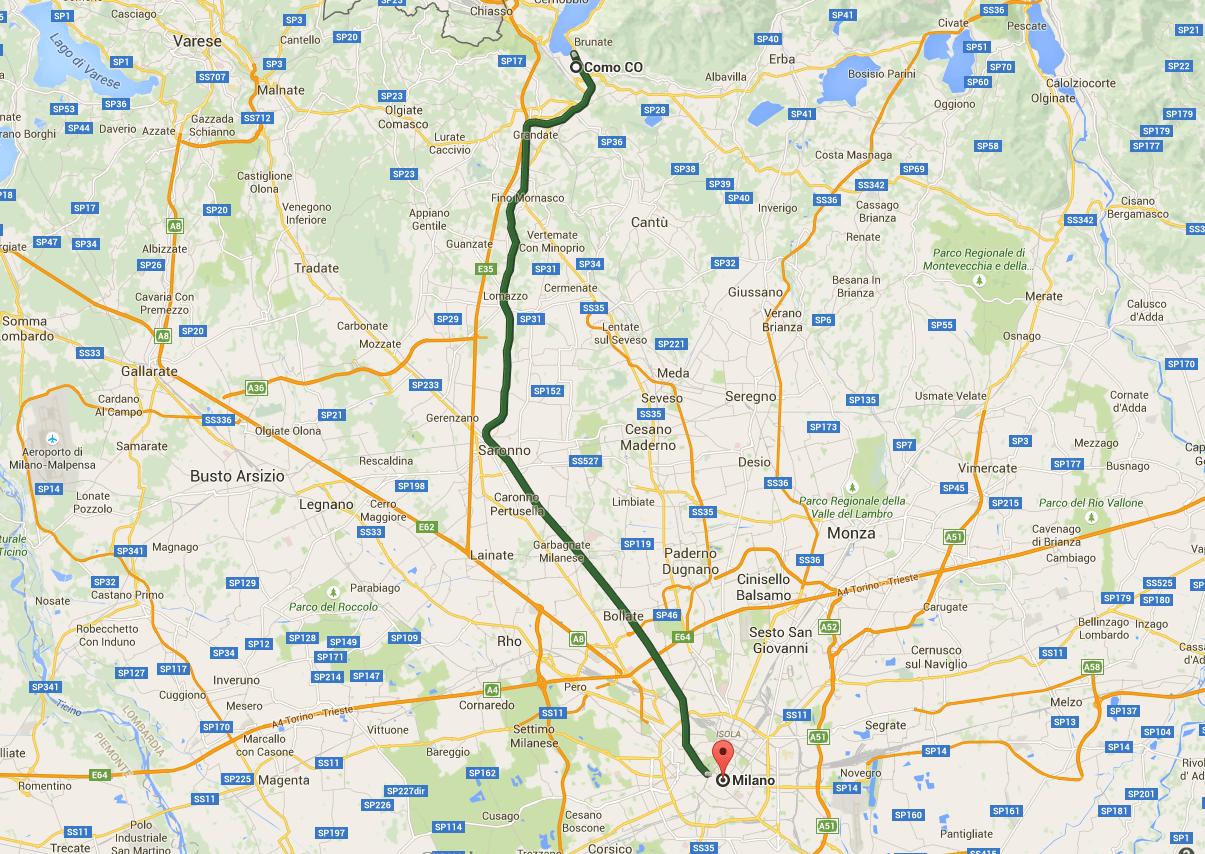 Como-Milan