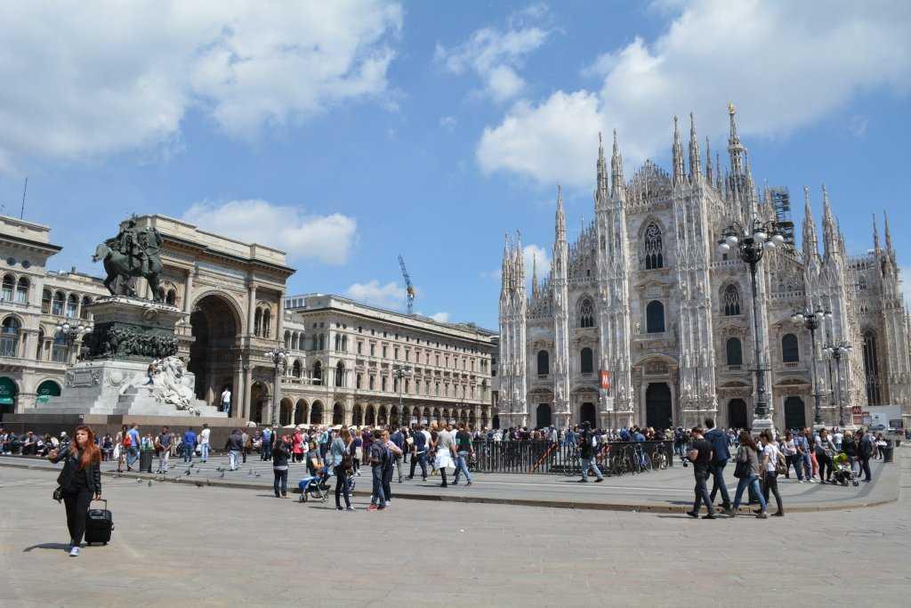 Duomo Katedrali ve Galleria Vittorio Emanuele II
