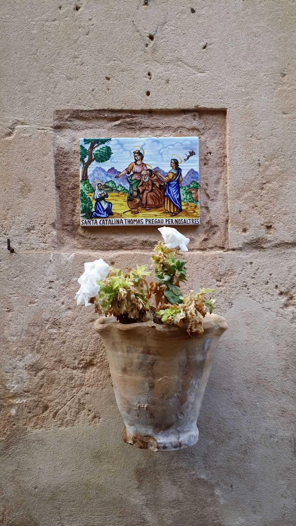 Valldemossa - Duvarlardaki seramik resimler
