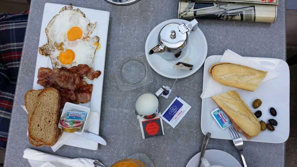 Soller'de kahvaltı