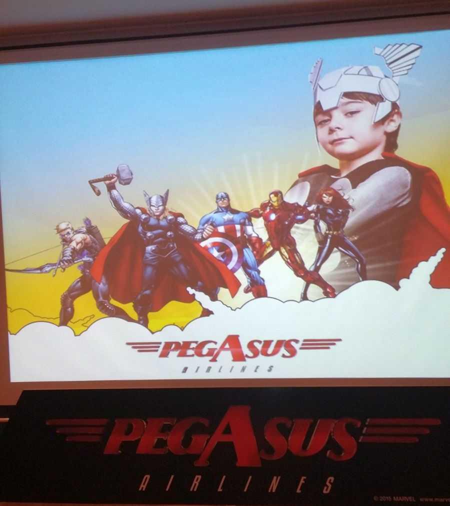 "Pegasus ""Süper Kahramanlı"" uçuş videosu"