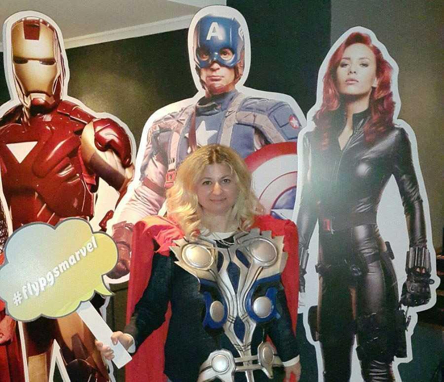 Süper Kahraman olduk biz :)